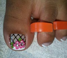 Uñas pies Pedicure Nail Designs, Toe Nail Designs, Pedicure Nails, Toe Nail Art, Toe Nails, Toe Polish, Nails 2017, Gorgeous Feet, Fabulous Nails