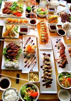 Japanese food feast!