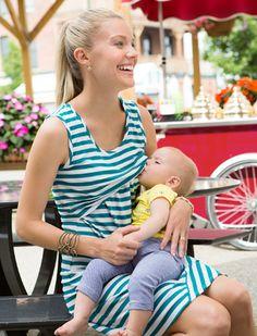 Chic Nursing Clothes from Milk Nursingwear. Brilliant. Nursing Tank, Nursing Wear, Nursing Dress, Maternity Nursing, Casual Maternity, Maternity Wear, Maternity Fashion, Maternity Dresses, Breastfeeding Fashion
