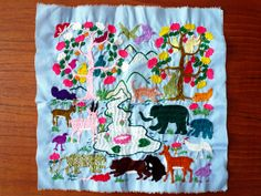 Embroidery from Laos