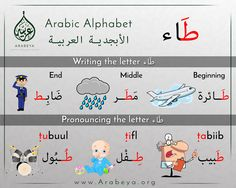 The letter taa'  حرف الطاء