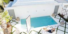 House Tour: An Oasis in Rosemary Beach - Design Chic Outdoor Rooms, Outdoor Living, Outdoor Decor, Outdoor Ideas, Dyi, Rosemary Beach, Small Backyard Pools, Décor Boho, Atlanta Homes