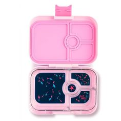 Yumbox Panino (Bahamas Pink) ($33) ❤ liked on Polyvore featuring home, kitchen & dining, food storage containers, thermal lunch box, food box, sandwich box, lunch tote and bpa free lunch box