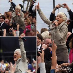 On This Day in #PinkHistory 30th April 2009 P!nk performed at the recording of the T-Mobile advert in London. Check out www.PinkHistoryOfficial.com for more!