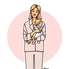 ✨ #littlemiracle #girlsinbloom #illustration #lenaperminova #oliviavonhalle #pink