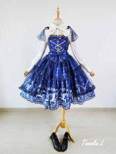 [Replica] Angelic Pretty Crystal Dream Carnival Lolita JSK $87.99-Lolita Dresses - My Lolita Dress