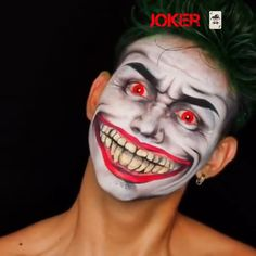 Joker makeup tutorial JOKER🤡 Such a high quality makup tutorial for those of you who dare to take on the HALLOWEEN challenge! 👹 by Related posts: Joker Halloween Makeup Tutorial Halloween Joker Makeup, Clown Makeup, Diy Makeup, Trendy Halloween, Halloween Tags, Joker Makeup Tutorial, Makup Tutorial, Joker Make-up, Fantasias Halloween