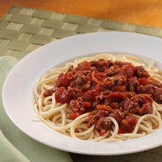 Classic Spaghetti Meat Sauce Recipe - making this tonight to see how it is...