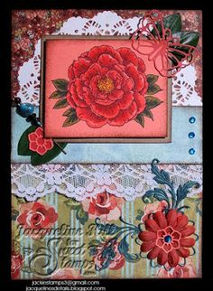 SweetStamps Challenge 5/21/13 Use a SweetCuts Die- New Release; DT Jacqueline