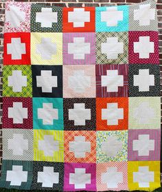 kelbysews: The Crossing: An Easy Quilt Tutorial