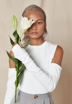 Missguided, Long Sleeve Tops, Shoulder, Mid Length, How To Wear, Cotton, Fashion Outfits, Clothes, Amazing