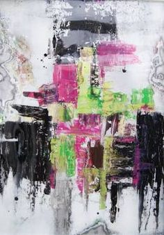 """#art - #abstraction hand #painting """"Agitated Mood"""""""