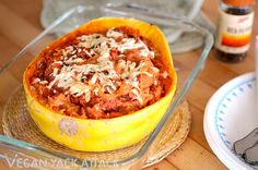 Spaghetti squash is in season and ready to be pizza-fied! (Pizza-fy: our new favorite verb.)