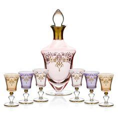 Bernardo Osmanlı Serisi Likör Seti/ Liqueur Set #bernardo #glass #ottoman