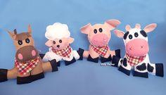 1001 Feltros: Festa Junina na fazenda!