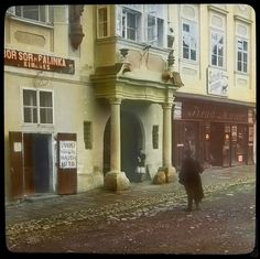 Karel Dvořák: Kremnica. Ulica:1908 - 1914