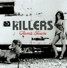 The Killers - Sams Town Album Art by Anton Corbijn The Killers, Brandon Flowers, Lps, Dark Wave, Pochette Album, When You Were Young, This Is Your Life, Best Albums, Greatest Albums