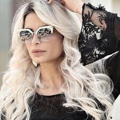 @pricyllapedrosa realçou seu look com óculos da #Fendi ✨ #blogger #fashion #ootd #lookoftheday #acessorios #diva