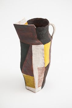 Helen Fuller, untitled, 2014, Terracotta, underglaze and oxides. Courtesy the artist and Narek Galleries.