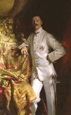 John Singer Sargent - Portrait of Sir Frank Swettenham