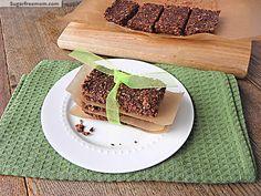 NO Bake Cocoa Quinoa sesame bars