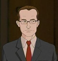 """Charles Foster Ofdensen is Dethklok's CFO and repeatedly saves them from death, destruction and ruin. They still have no idea what he does. At one point they refer to him as """"the best butler ever""""."""