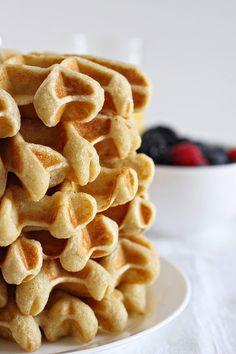 buttermilk waffles, (gluten-free).