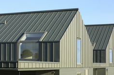 Zinc roof and walls