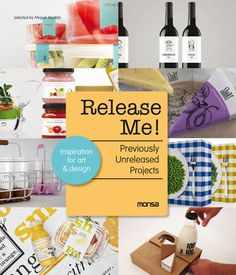 Release Me!  There are some design projects that will never see the light, staying in the drawer and failed to be released. In this book, we wanted to pick up this collection of works bringing them to life, under no limits or conditions, designs that have never been produced, published or printed in any graphic discipline– corporate image, packaging, advertising, and computer graphics.