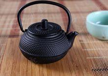 Mini 0.05 ml ferro fundido bule de chá com metal filtro net japonês bule revestimento de partículas de água 0.35l kungfu chinês ferramentas de chá(China (Mainland))