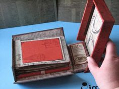 Club Scrap - Nice to See You Design Challenge - Album & Hidden Compartment in a Fold-Out Box