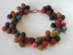 Yael Krakowski, B.C. Canada. 'Grapes necklace'