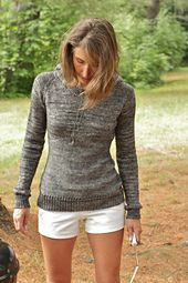 Ravelry: Briquette pattern by Alicia Plummer. Very pretty - the texture shift is a great visual detail