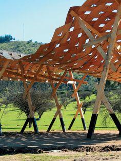 Talca: Sombreadero en Cancha de Carreras a la Chilena