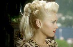 Gwen pin style Hair