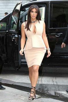 Kim Kardashian Fashion and Style - Kim Kardashian Dress, Clothes, Hairstyle - Page 4