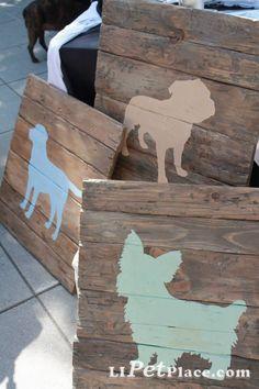Pet wooden boards