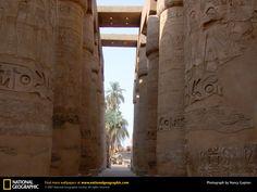 Temple of Amun-Re - egypt wallpaper