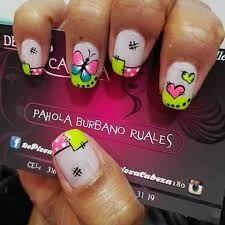Resultado de imagen para decoracion de uñas masglo mariposas