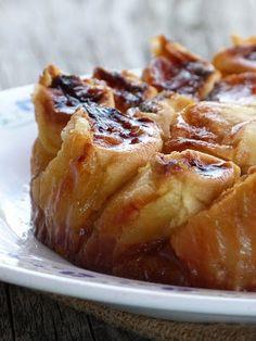 Tarte aux pommes sur Broyé du Poitou