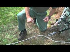 Rope and Pulley Systems: Segment 9 - The Z Rig Firefighter Training, Mountaineering, Pulley, 3 Things, Ropes, Firewood, Knots, Military, Woodburning