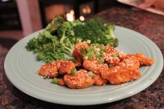 Hungry Girl's Sweet 'n Sticky Sesame Chicken - No Thanks to Cake Ww Recipes, Chicken Recipes, Cooking Recipes, Hungry Girl Recipes, Sesame Chicken, Tandoori Chicken, Healthy Choices, Healthy Eating, Favorite Recipes