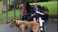 Tate County Sheriff's Deputy Brandon Finley and his police canine partner Furax…