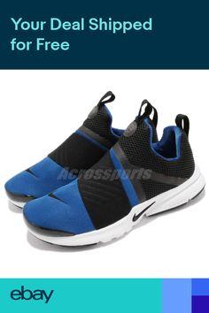 d8b4ea920210 Nike Presto Extreme GS Blue Black White Kid Youth Women Slip On Shoes  870020-403