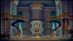 i'd love a man forever if he gave me a library.  (Beauty & The Beast)