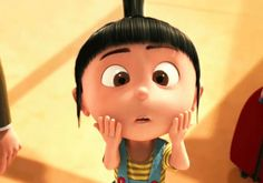"""""""You will not cry or whine or laugh or giggle or sneeze or burp or fart. So no, no, no annoying sounds."""" - Gru """"Does this count as annoying?"""" - Agnes, Despicable Me"""