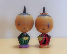 K-53 Creative Kokeshi petite taille sculpté en bois poupées