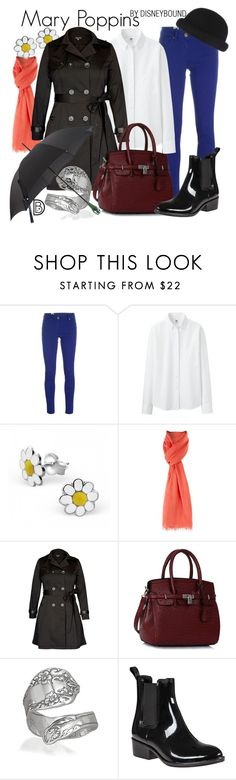 """""""Mary Poppins"""" by leslieakay ❤ liked on Polyvore featuring M Missoni, Uniqlo, MaxMara, City Chic, Bling Jewelry, Jeffrey Campbell, disney and disneybound"""