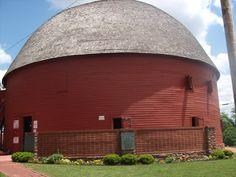 Round Barn, Arcadia, Oklahoma