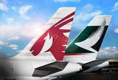 Qatar Airways and Cathay Pacific form strategic partnership on Doha - Hong Kong route.